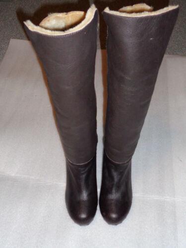 2/9 Veletto botas de cuero talla 38 marrón Dick forradas vaquero estilo talla 38