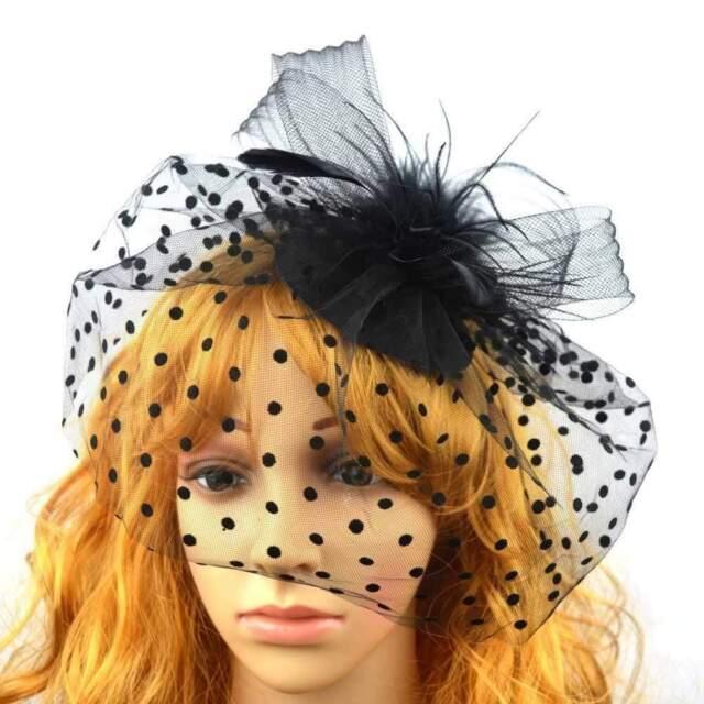 Grey Velvet Rose Flower Fascinator Races Wedding Pillbox Hat Hair Vintage 5002
