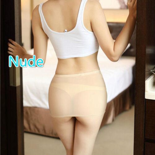 Women Sheer Bodycon Wear Through Short Club Invisible Mini See Sexy Skirt Micro rr4wdOq