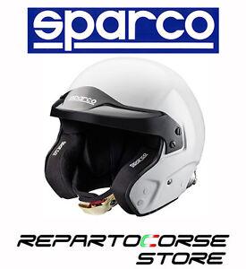 CASCO-SPARCO-RALLY-PRO-RJ-3-BIANCO-OMOLOGATO-FIA-8859-SNELL-003353-RACING