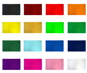 White Solid Color Flag 3x5 Blank Sublimation Flag Blank White Signal Flag