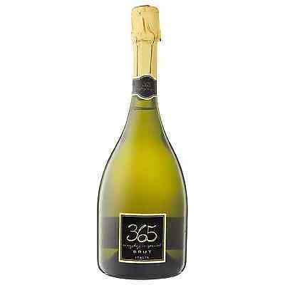 365 Italian Brut 2016 case of 6 Sparkling White Wine 750mL