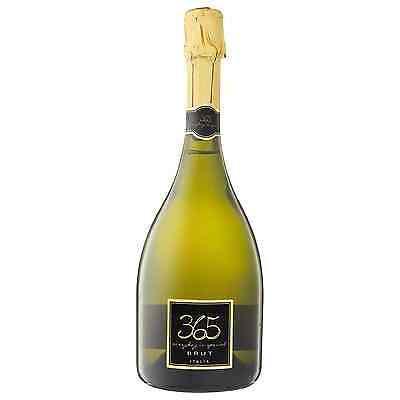 365 Italian Brut 2016 case of 6 Sparkling White Wine 750mL