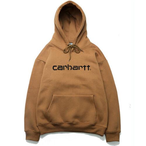 HOT Mens Carhartt Hooded Script Sweatshirt Hoodies Pullover Size M-2XL 2019