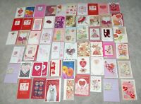 Lot Of 60 High Quality Valentines Day Cards Nice Variety