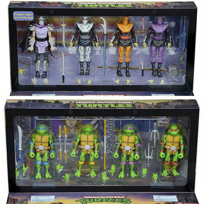 TMNT 7  Action  Figure Teenage Mutant Ninja Turtles Limited  neca Enfants Gift Toys  grande remise
