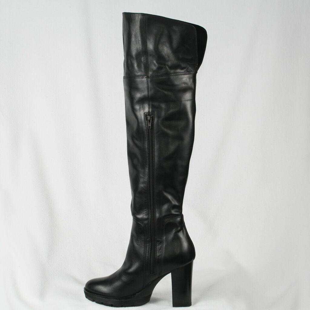 Grandes zapatos con descuento PEPEROSA DAMEN STIEFEL STIEFELETTEN ECHTLEDER LEDER BOOTS SCHWARZ NEU 36 37