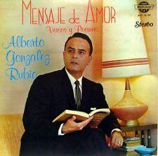 Alberto Gonzalez Rubio  Mensaje de Amor Versos y Poemas   LP