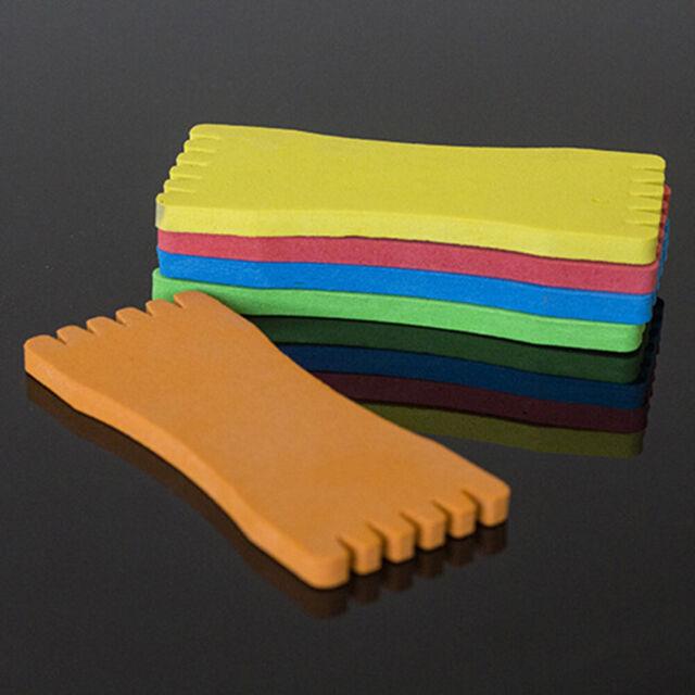 ALS_ 10 Pcs Convenient Foam Fishing-Line Plate Board Spools Fishing Tackle Candy