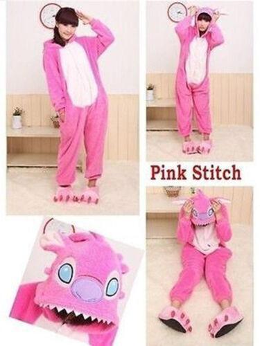 Hot Onesie3Pajamas lilo and stitch Lovers Adult//Kids Sleepwear Costumes Cosplay