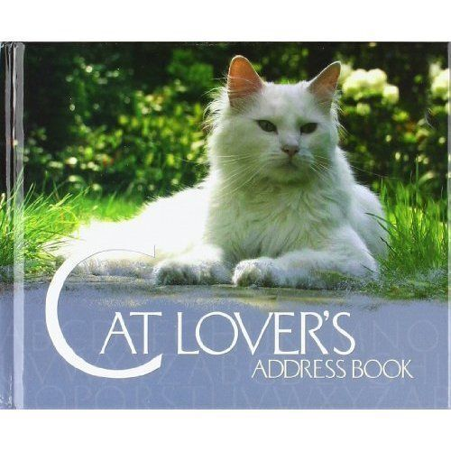 Cat Lover's Address Book-ExLibrary