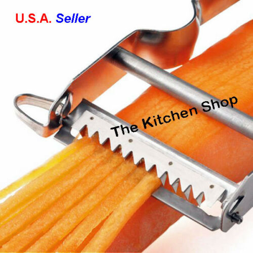 Kitchen Tools /& Gadgets  New Julienne Peeler Shredder Star Zena Swiss