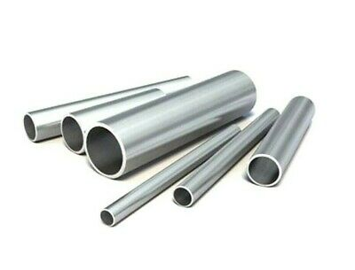 *Top Quality! Aluminium round solid bar 6082-T6511 6mm -/> 50mm 100mm lengths