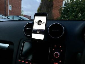 audi 8p 2002 2012 a3 s3 rs3 phone mount sat nav mount ebay. Black Bedroom Furniture Sets. Home Design Ideas