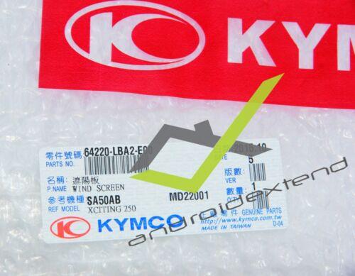 KYMCO XCITING 250//300//500 WINDSCREEN