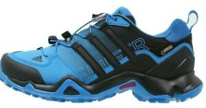 6891b50146fe0 Adidas Terrex Swift R GTX Gore Tex Waterproof Black Blue Trail ...