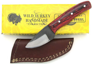 turkey handmade knife turkey handmade tang real file skinner knife w 8106