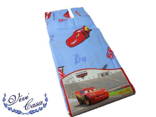 TENDA CALATA ARREDO CON ASOLE DISNEY CARS IN COTONE 140x290cm CELESTE