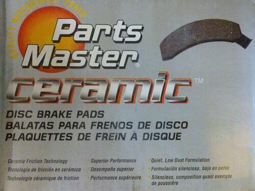 Brand New Parts Master CMX1211 Ceramic Disc Brake Pads
