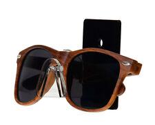 Wall Sunglasses Eyeglasses Organizer Display Stand Rack With Black Back