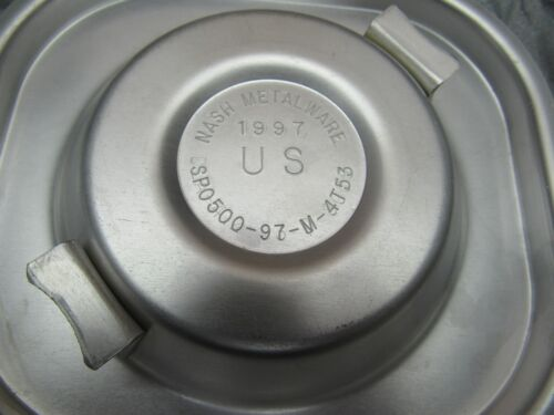 US MILITARY MERMITE INSERT LID W// GASKET NOS FOOD CONTAINER CAP INSERT TOP