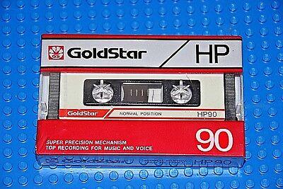 1 GOLDSTAR HD  90     BLANK CASSETTE TAPE SEALED