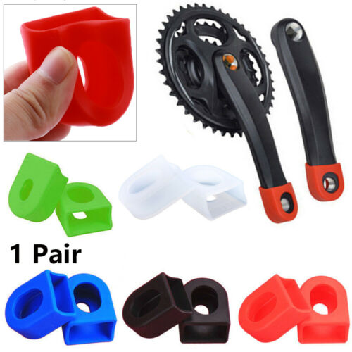 Tool Bicycle  Crank Protector Crankset Arm Boots Gel Sleeve Protective Sheath