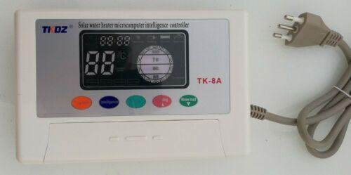 Centralina TK8A gestione pannello solare termico circolazione naturale acqua