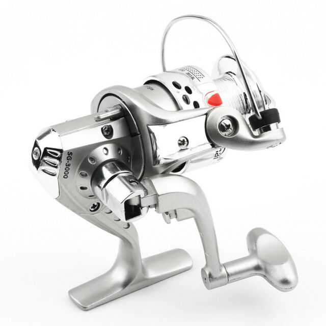 Fishing Spinning Reel 5.1:1 6BB Ball Bearings  Left/Right SG3000 ABS Spool EC