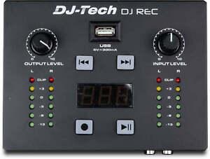 DJ-Tech-DJ-Rec-MKII-DJ-Enregistreur-Mini-Recording-outil-USB-Portable