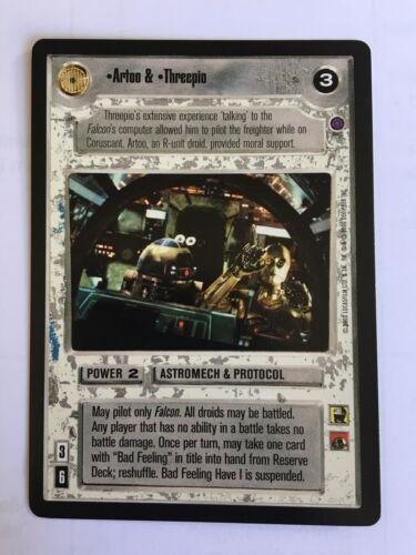 Artoo /& Threepio Star Wars CCG Decipher Reflections 2