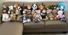 Build A Bear RANDOM Lot Full Size Plush Cat Dog Monkey Pink BABW Stuffed Animal