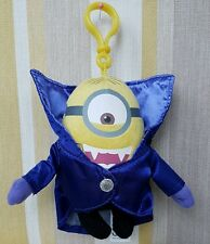 "Minion Dracula Minion 5"" dangly plush soft toy"