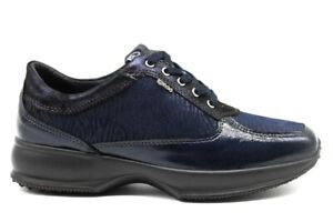 IGIeCO-4144322-Blu-Sneakers-Scarpe-Donna-Calzature-Casual