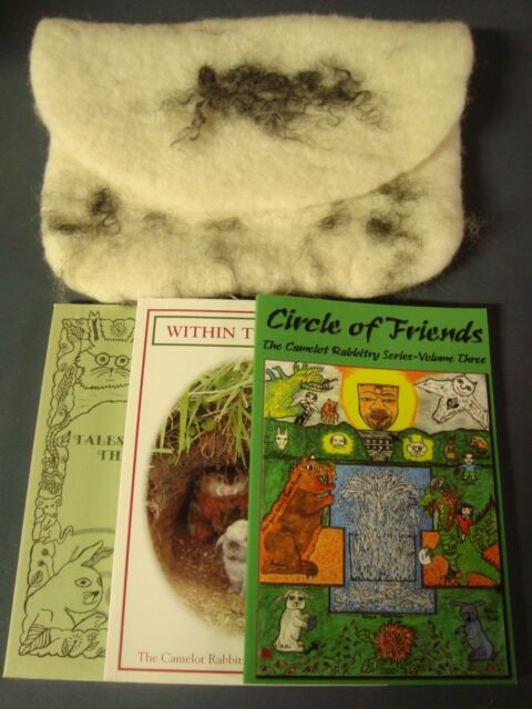 The Camelot Rabbitry Series, middle reader, collection, Wool Gift set, Signed