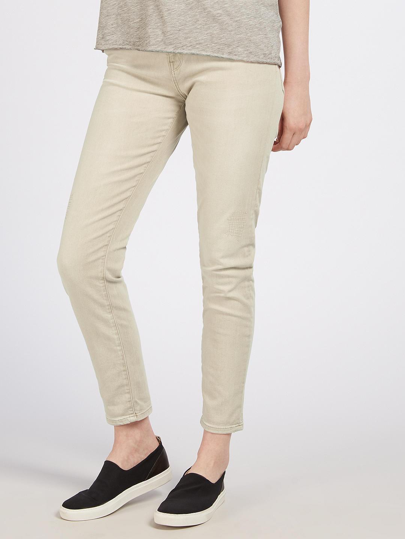 Maison Scotch Petit Ami Slim Boyfriend Jeans Sand BNWT UK SIze W27 L32