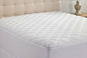 Anti-Allergy-Quilted-Cotton-100-Waterproof-Mattress-Protector-Fitted-Sheet