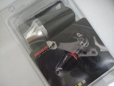 KOSO Universal Exhaust Slider Kit M8/M10 [Silver]