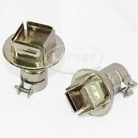 Quad Mouth IC SMD BGA Nozzles Heat Hot Air Gun Kit F 850 858 Soldering Station K
