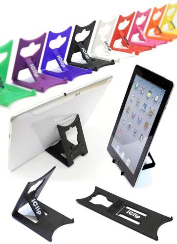 Apple ipad, galaxy tab, 9  10 Ordinateur Tablette Titulaire Noir iClip stand de pliage