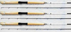 3 WALLY MARSHALL SIGNATURE SERIES CRAPPIE FISHING POLE 8/' WMS80-2 SET OF THREE
