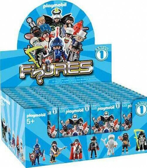PLAYMOBIL FIGURES SÉRIE 1 Bleu Mystery Mini Blind Box