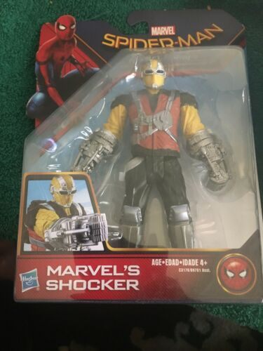 MARVEL 2017 RARE SPIDER-MAN HOMECOMING MCU SHOCKER 6IN FIGURE #2