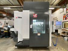 2016 Haas Umc 750ss Vertical Cnc Mill 5 Axis Machining Center Bt40 Or Cat40