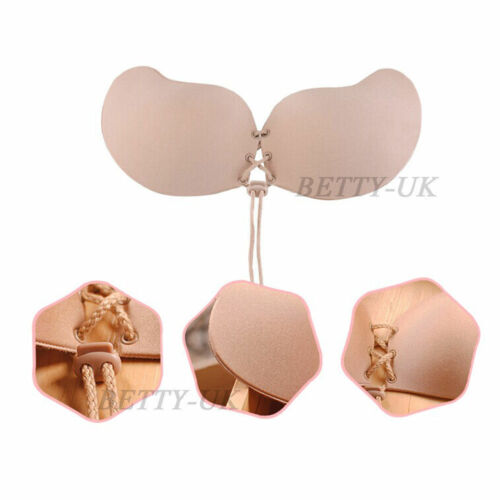 Silicone Tube top Strapless Backless Self-Adhesive Gel Magic Stick Invisible Bra