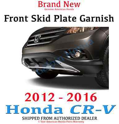 Genuine Oem Honda Cr V Front Skid Plate Garnish 2012 2016 Ebay
