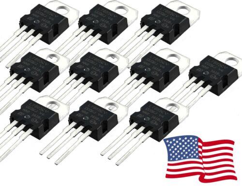 L7805CV L7805 7805 Positive Voltage Regulator IC 5V 1A TO-220 5-100pcs USA