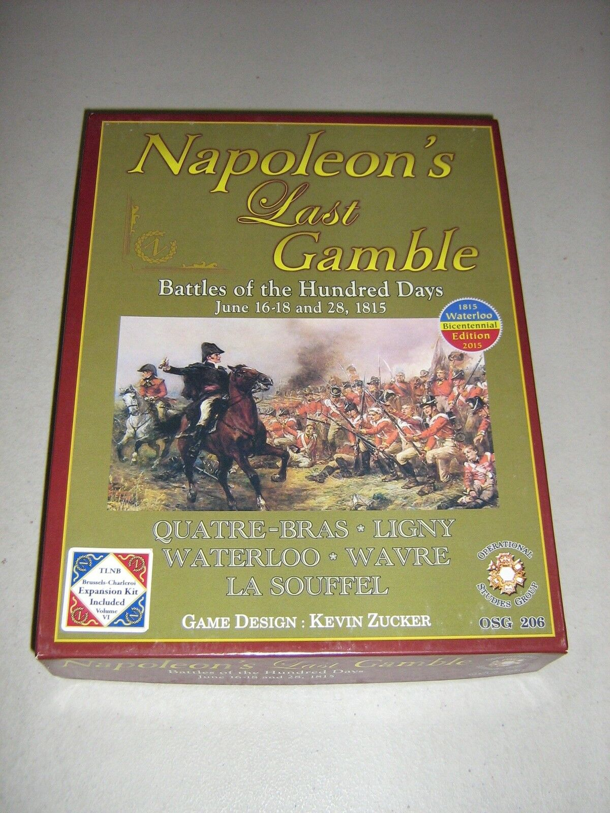 Napoleon's Last Gamble with Expansion Kit Includes (New)