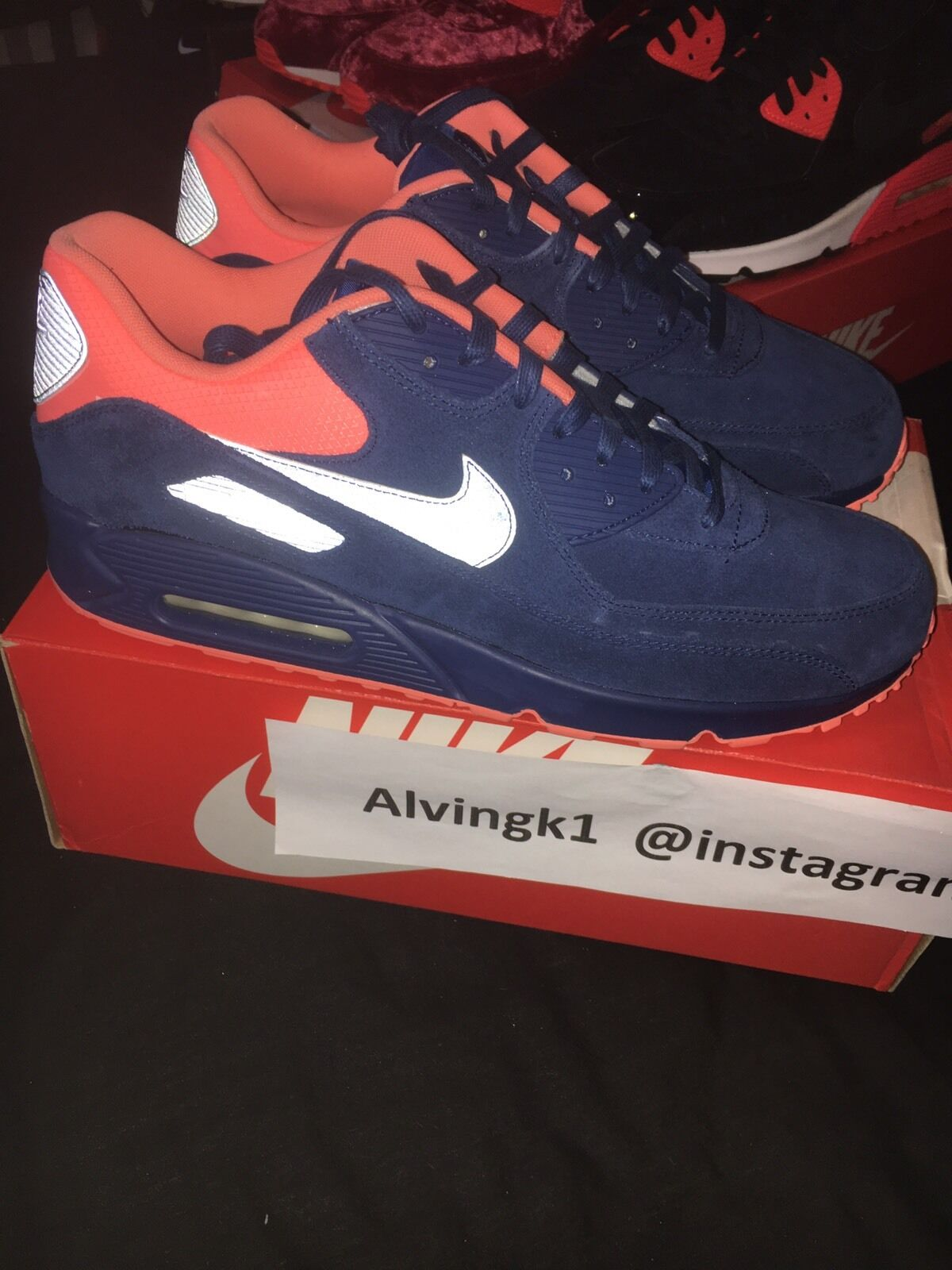 Nike Air Max 12uk 90 Premium DS NEUFS Taille 12uk Max 13us e30163