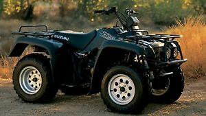 high lifter 2 lift kit suzuki quadrunner 500 1998 1999 2000 rh ebay com Suzuki Quadrunner 160 Repair Manual 500Cc 2001 Suzuki Quadrunner Electrical Schematic
